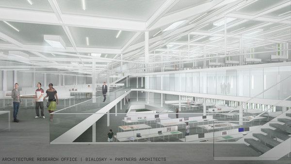 Proposals Unveiled for Kent State's new Architecture College (2)