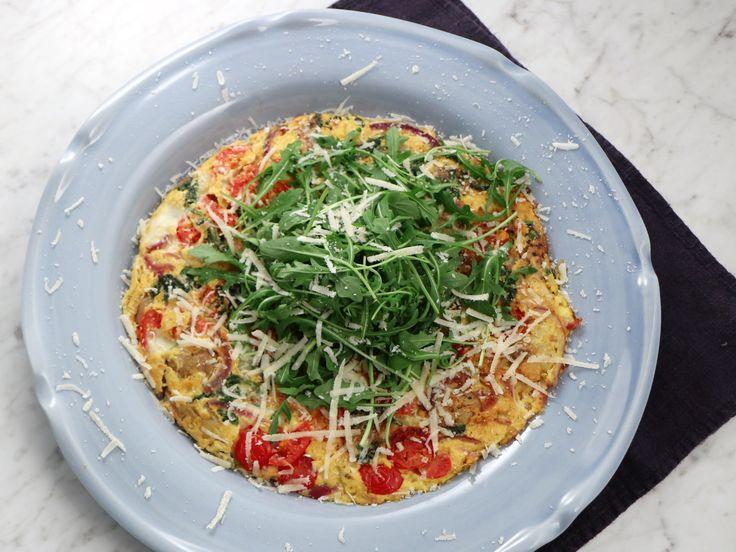 Italiensk frittata med citronkokt lök | Recept från Köket.se