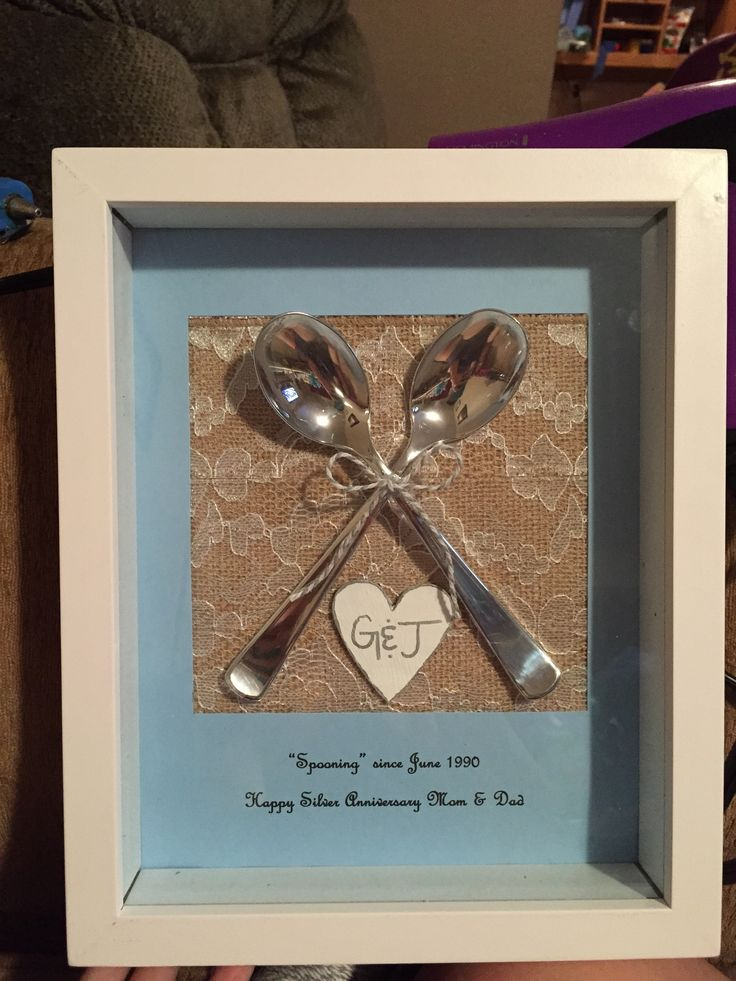 silver anniversary gifts for parents