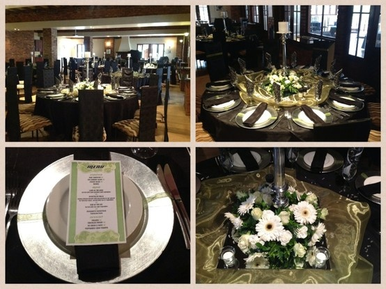 CORPORATE FUNCTION 20 February 2013 Colour : black, silver, olive green. Theme : elegant
