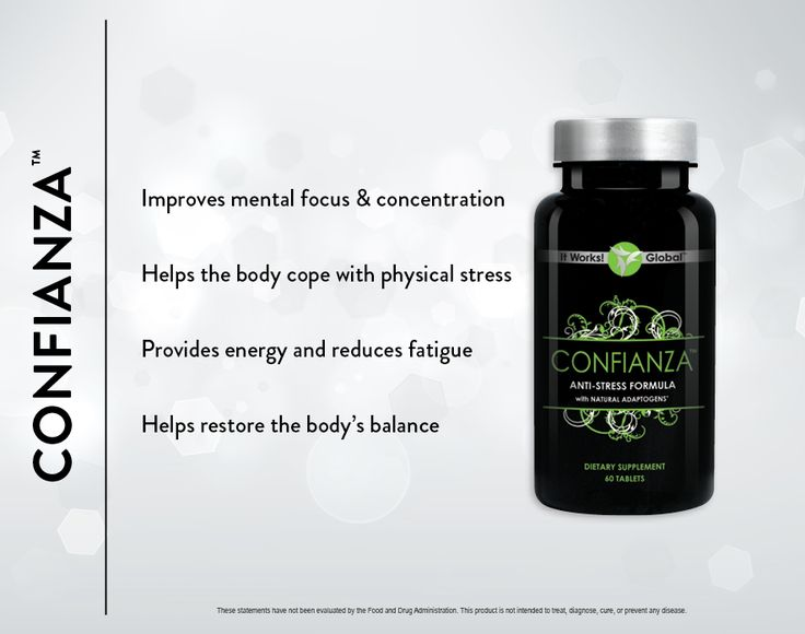 Confianza: Improve your focus, fight fatigue, and help your body scope with all the stress life throws at you!