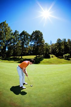 Image result for golfing in the heat