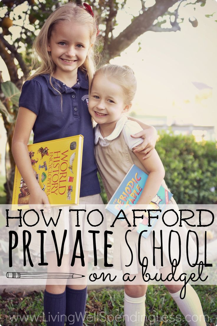 How to Afford Private School on a Budget – Living Well Spending Less™