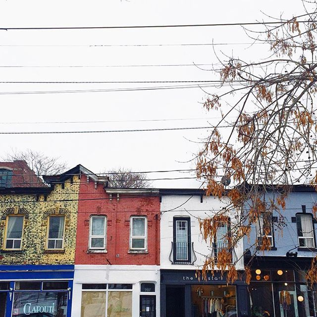 la vie (& toronto) est belle. even on gloomy days like these | the girl in polka dots
