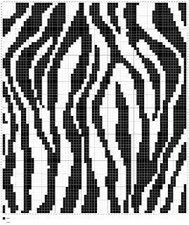 Living the Craft Life Crochet zebra blanket, Crochet