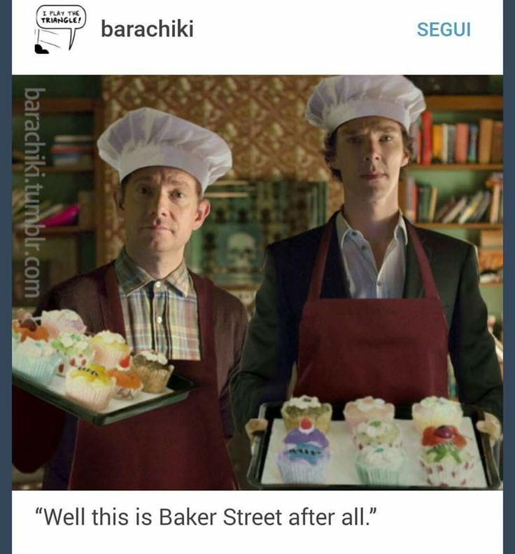 221b Baker Street <<< No wonder Mycroft hates coming over... bad for his cupcake addiction.