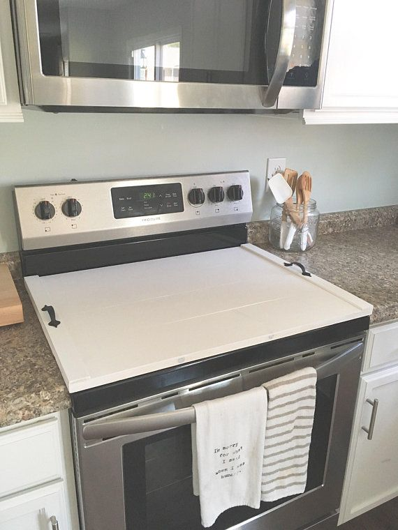 stove top cover plain wooden stove cover stove cover wooden rooms rh pinterest com