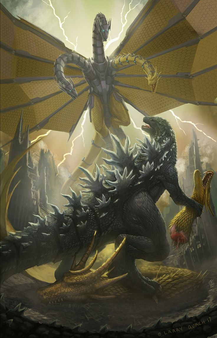 Godzilla vs Mecha King Ghidorah