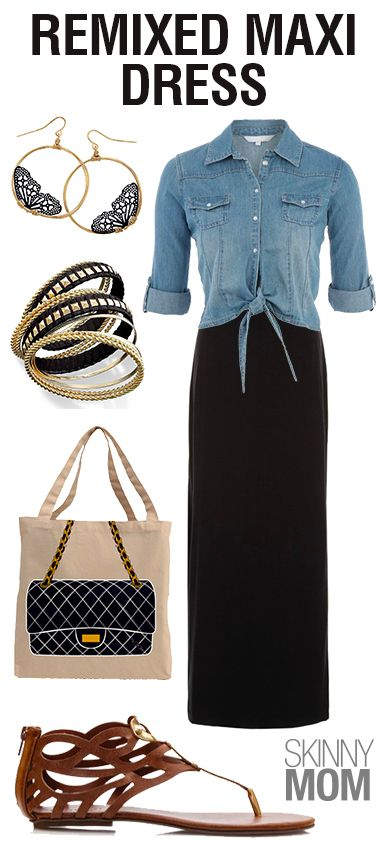 Sick of your plan old black Maxi Dress that you have worn over and over again? Repin and checkout how to mix it up!!!!
