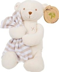 Olives+Pickles Organic Plush Jacques the Bear with Blankie, $42.95