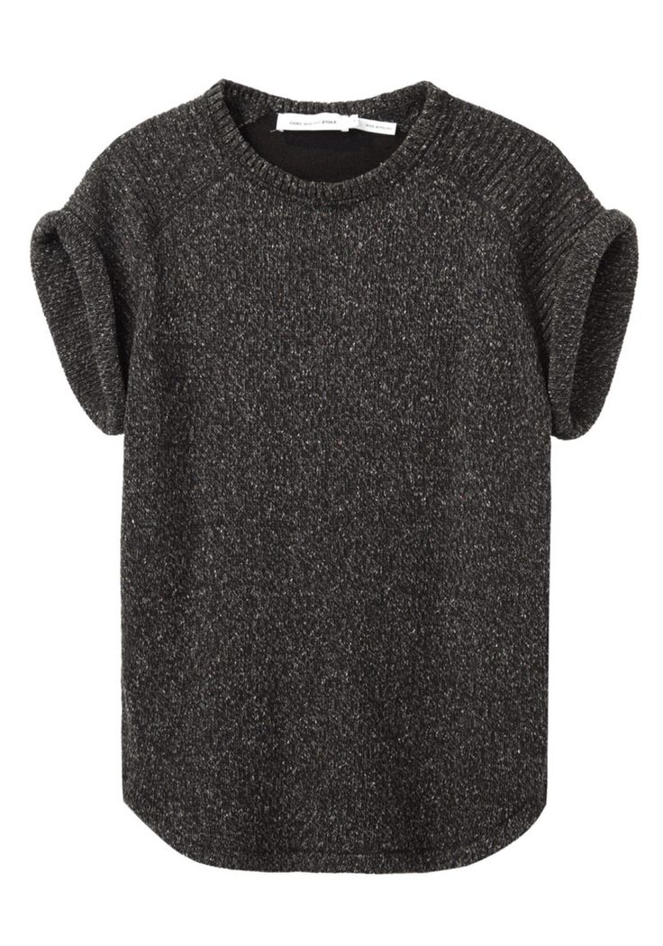 Isabel Marant | Minimal + Chic | @codeplusform I like the rolled sleeves on this.  Don't love the color though.