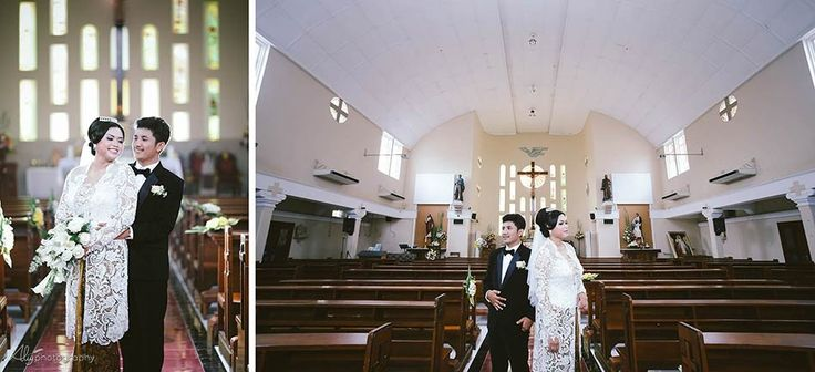Santo Petrus Church: Amel & Krispin Wedding