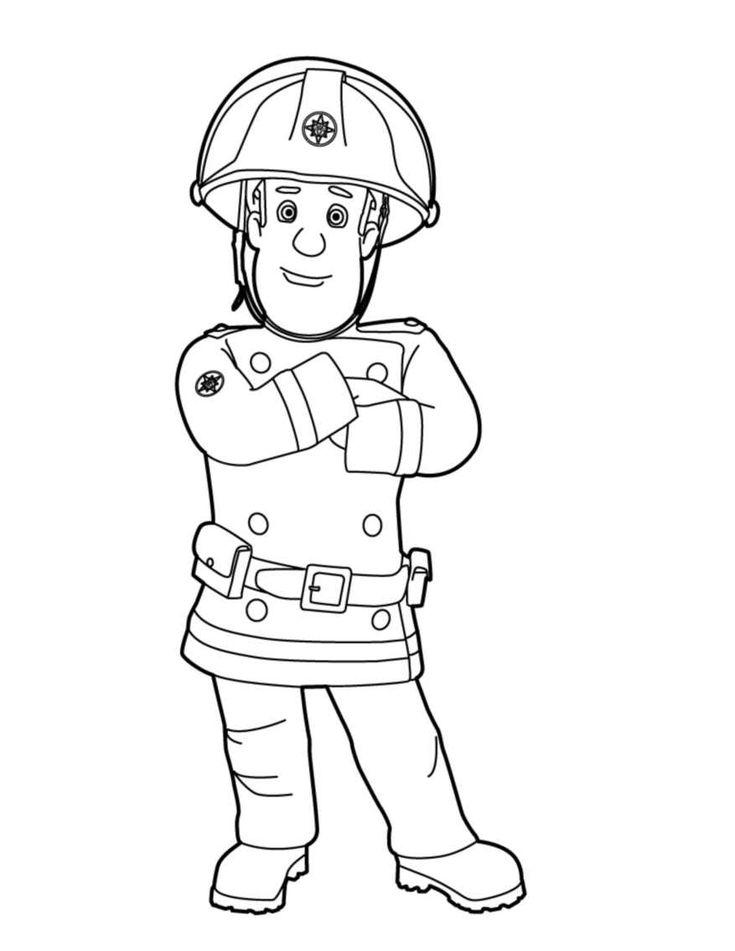 Les 25 meilleures id es concernant dessin anim de pompier - Sam le pompier personnages ...