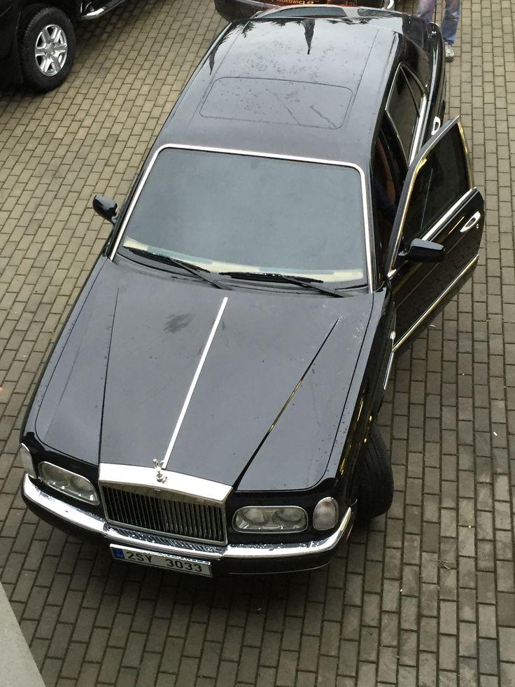 Rolls Royce, připraven pro majitele :)
