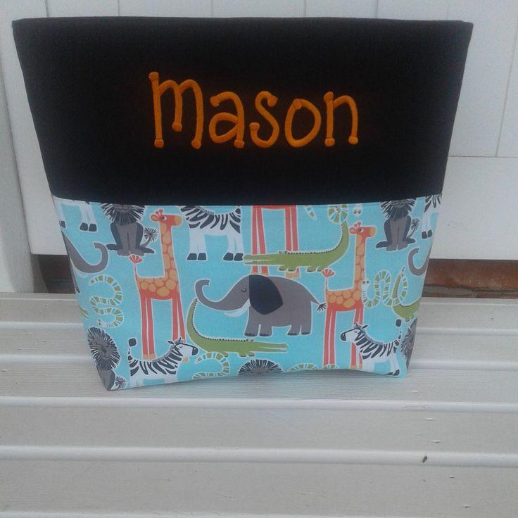 Diaper bag, boy diaper bag, baby shower gift, personalized diaper bag, personalized boy diaper bag, boy baby gift, handmade diaper bag by sewblessedstitches on Etsy