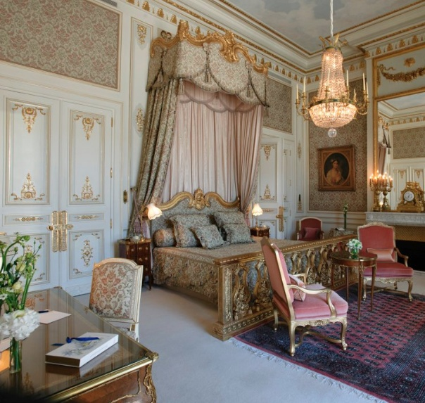 Suite Impériale at the Ritz Paris
