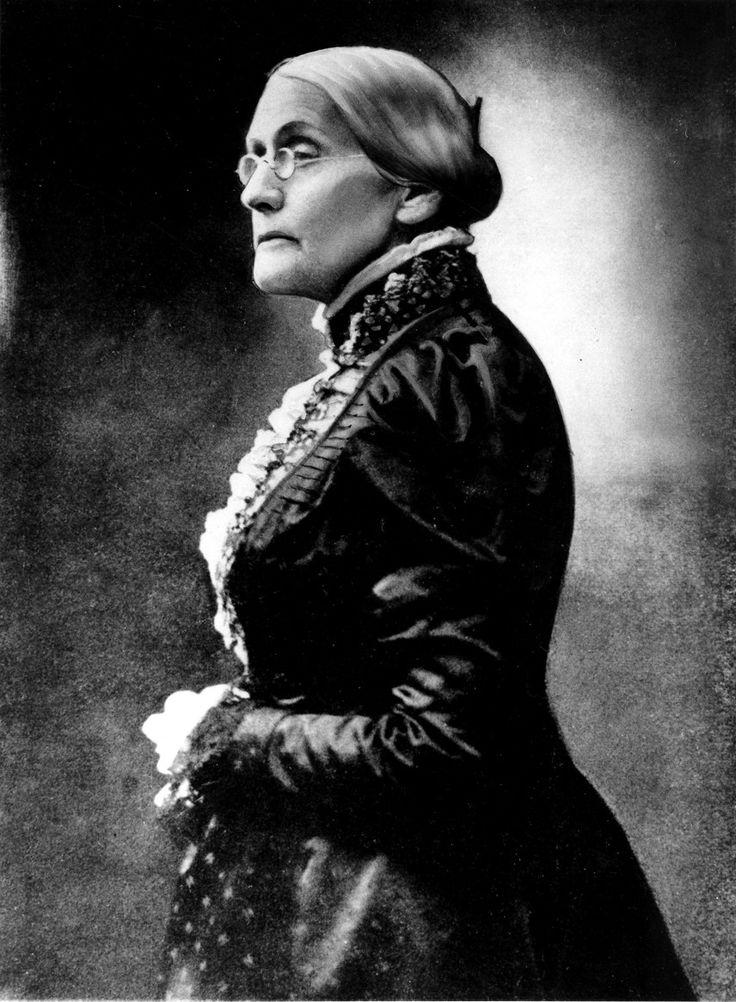 Questions on susan b anthony