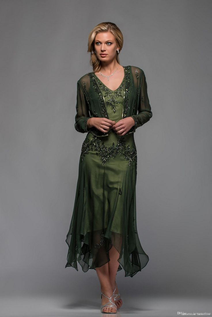 J0an Rivers 2015 Newest Mother Of The Bride Dresses A Line V Neck Long Sleeves Tea Length With Appliques And Beaded Beach Party Gowns Joan Joan Rivers From Imonolisa, $151.35| Dhgate.Com