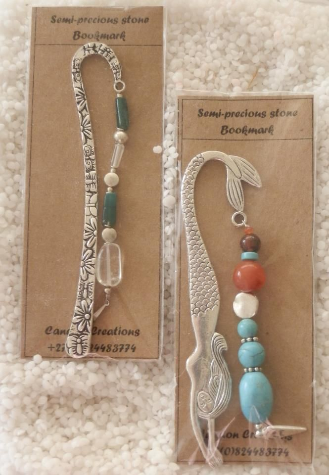 CANDON CREATIONS - More bookmarks, R70 each. That's about 6 Euros!