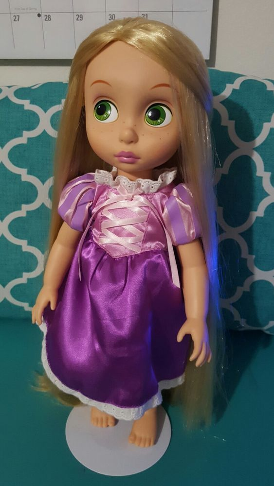 """Disney Store Animator's Collection Rapunzel 16"""" Doll 2nd Edition Untangled Hair #Disney #DollswithClothingAccessories"""
