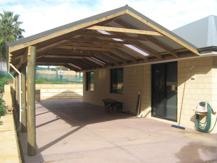 Aluminum roof added on lanai exteriors gable patio for Gable patio designs