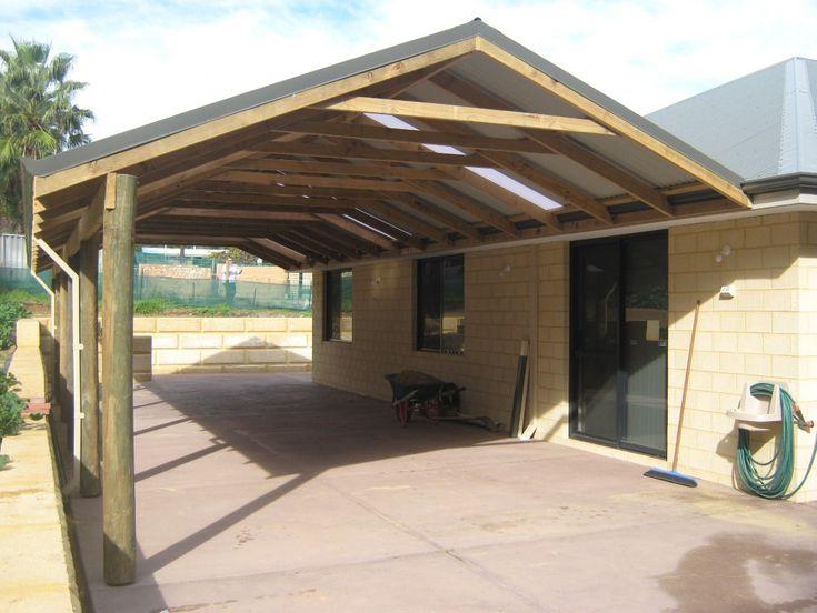 Aluminum Roof Added On Lanai Exteriors Gable Patio