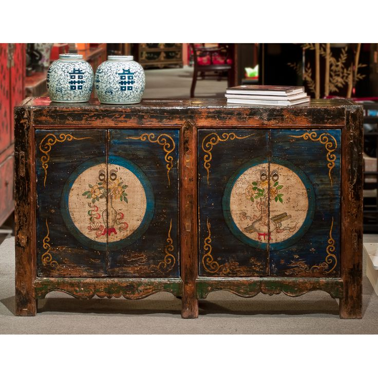 115 best asian style media and tv cabinets images on for Oriental furniture warehouse