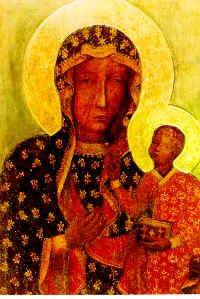 The image of Our Lady in Czestochowa, Poland, is among that small group of Black Madonnas recognized throughout the entire world, largely due to the recent manifestations of public piety shown by the reigning Polish Pope, John Paul II.