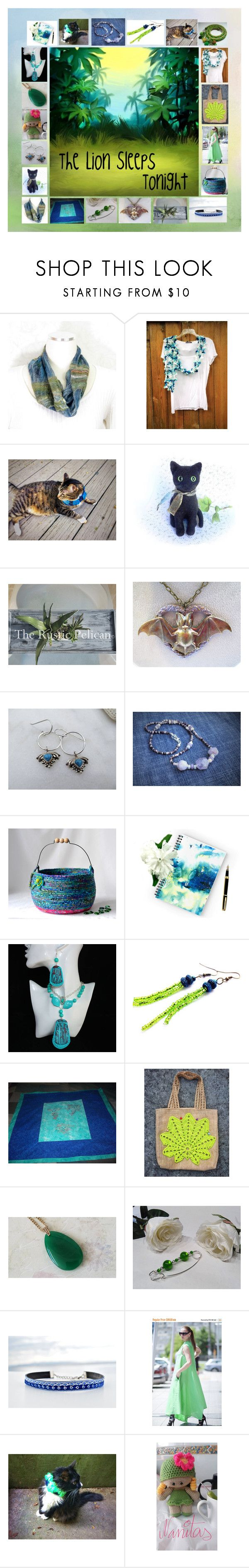 """The Lion Sleeps Tonight: Birthday Gift Ideas"" by paulinemcewen ❤ liked on Polyvore featuring rustic, vintage and country"