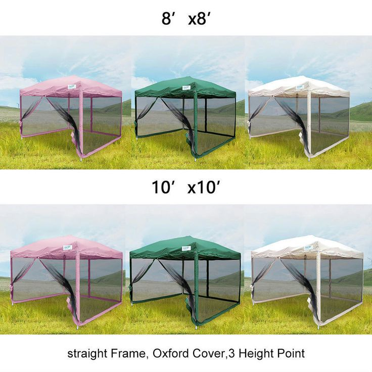 Details About Quictent 10x10 8x8 Pop Up Canopy With