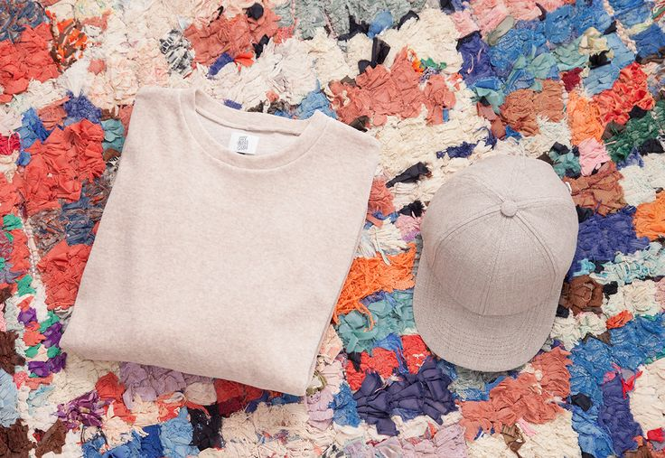 Overthinking Cap and Sweat Shirt nude