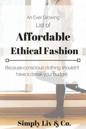 17+ bilder om conscious på Pinterest | Garderob, Shoppa och Miljö