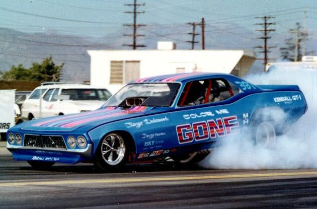 """Color me Gone"" 78 Challenger funny car"
