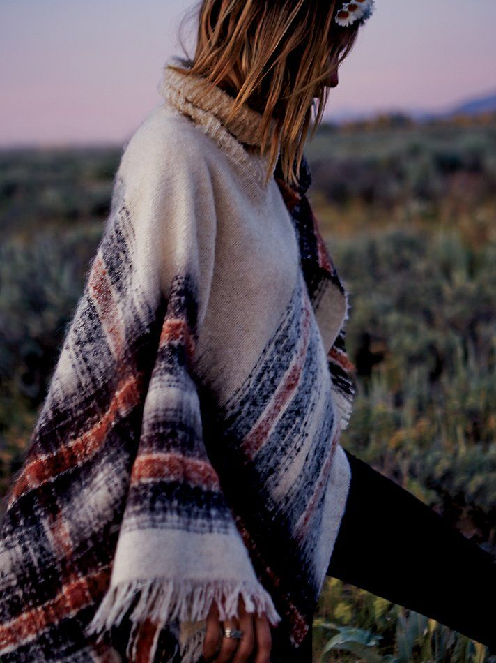 Free People Legends Poncho
