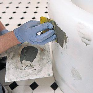 Refinishing cast iron tubs