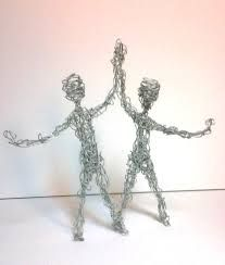 Image Result For Wire Sculpture People