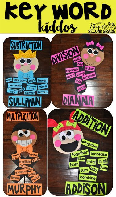 Step into 2nd Grade with Mrs. Lemons: Key Word Kiddos