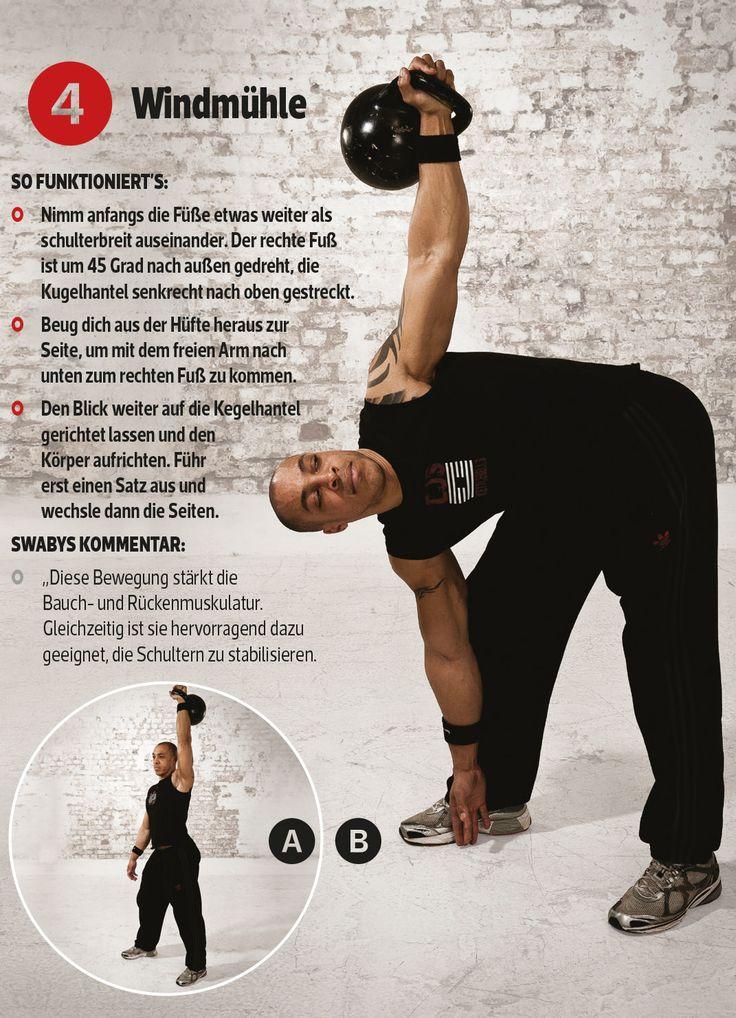 12 Minuten, vier Übungen, eine Kettlebell | MEN'S FITNESS