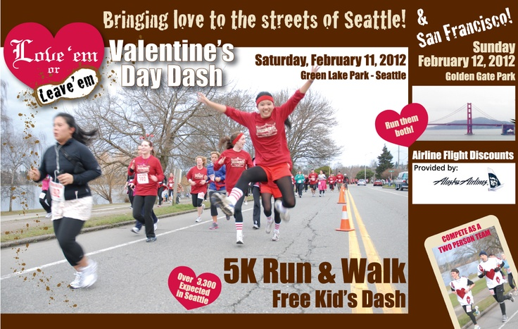 valentine's day run san francisco
