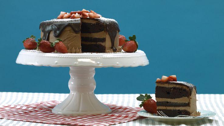 Nutella Schoko-Schicht Torte