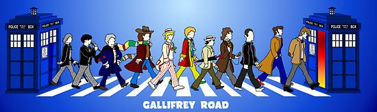 Gallifrey Road!