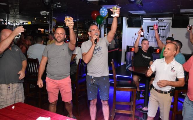 The Pub Gay Bar Wilton Manors, FL | Mark's List Village Pub's Fond Farewell Party Village Pub in Wilton Manors hosted a Fond Farewell Party for three of the original owners who have decided to pursue other ventures. The evening also introduced Mike, who is the new face of Village Pub.