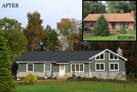 Home Additions Before and After | The following photos are before and after snapshots of additions and ...