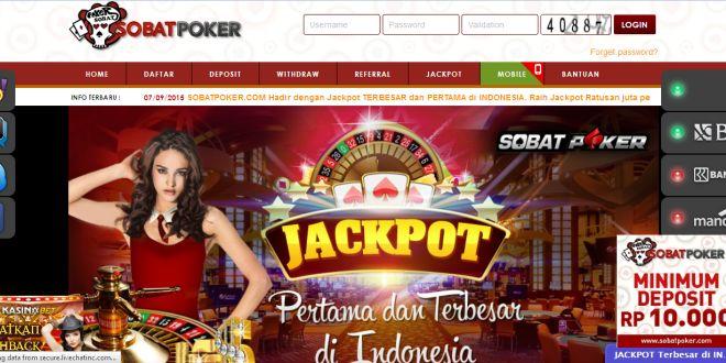 SobatPoker – Agen Poker Online Indonesai Terpercaya