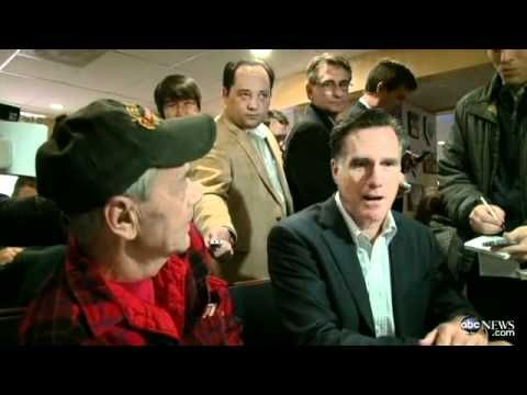 "Back in December 2011 during a campaign stop in New Hampshire, Mitt Romney decided to drop by Vietnam War veteran Bob Garon's breakfast table for a quick photo-op. What Romney didn't realize is that Garon was sitting with his husband, whom he had married just a few months earlier.     What followed might be the single greatest ""oblivious Romney"" moment of the entire campaign. Enjoy."