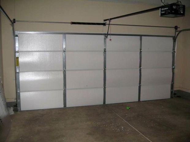 Steps most effective way to insulate your garage door