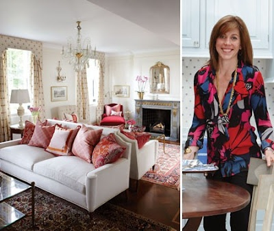 Hydrangea hill cottage an english row house sarah - Sarah richardson living room ideas ...