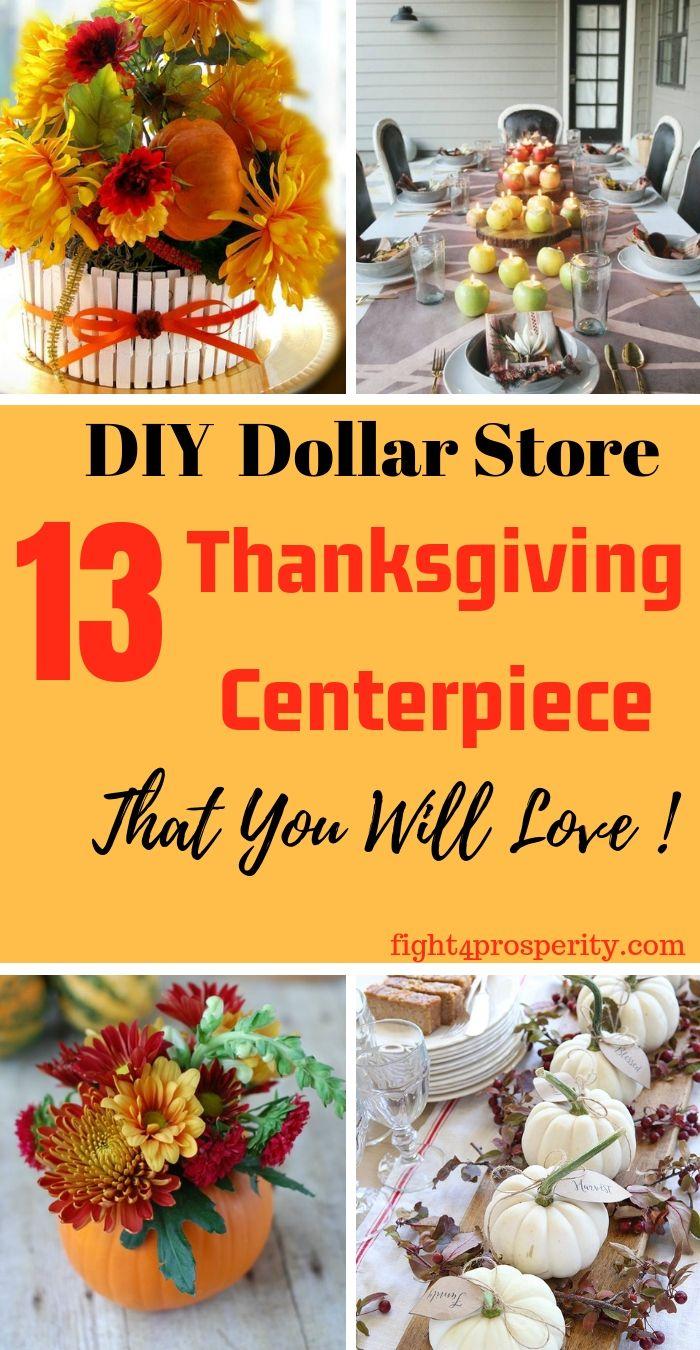 13 diy thanksgiving centerpieces that makes your table superb rh pinterest com