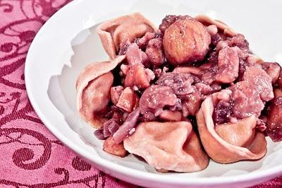 Chestnut Tortellini... from my foodblog www.theforkfather...