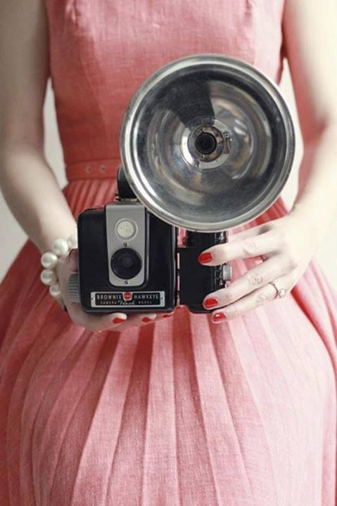 Vintage Camera as a cool prop that doesn't look tacky!